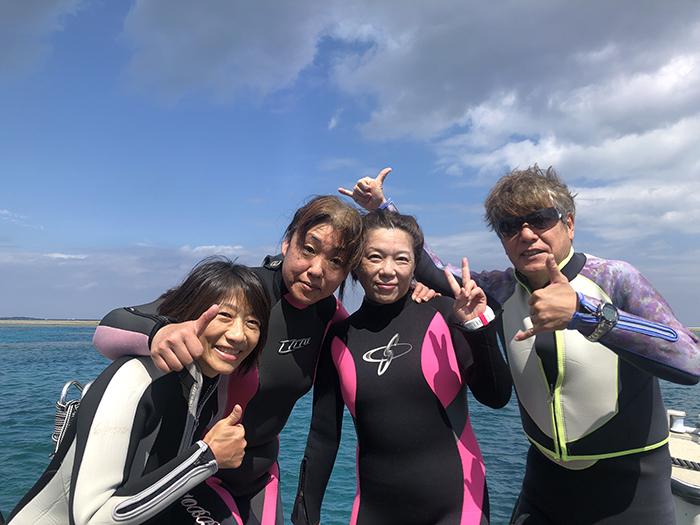 神山島ダイビング