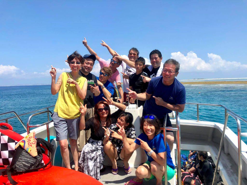 沖縄ウチナーンチュ海まつり 体験ダイビング ジェイケーウェーブ JK-Wave