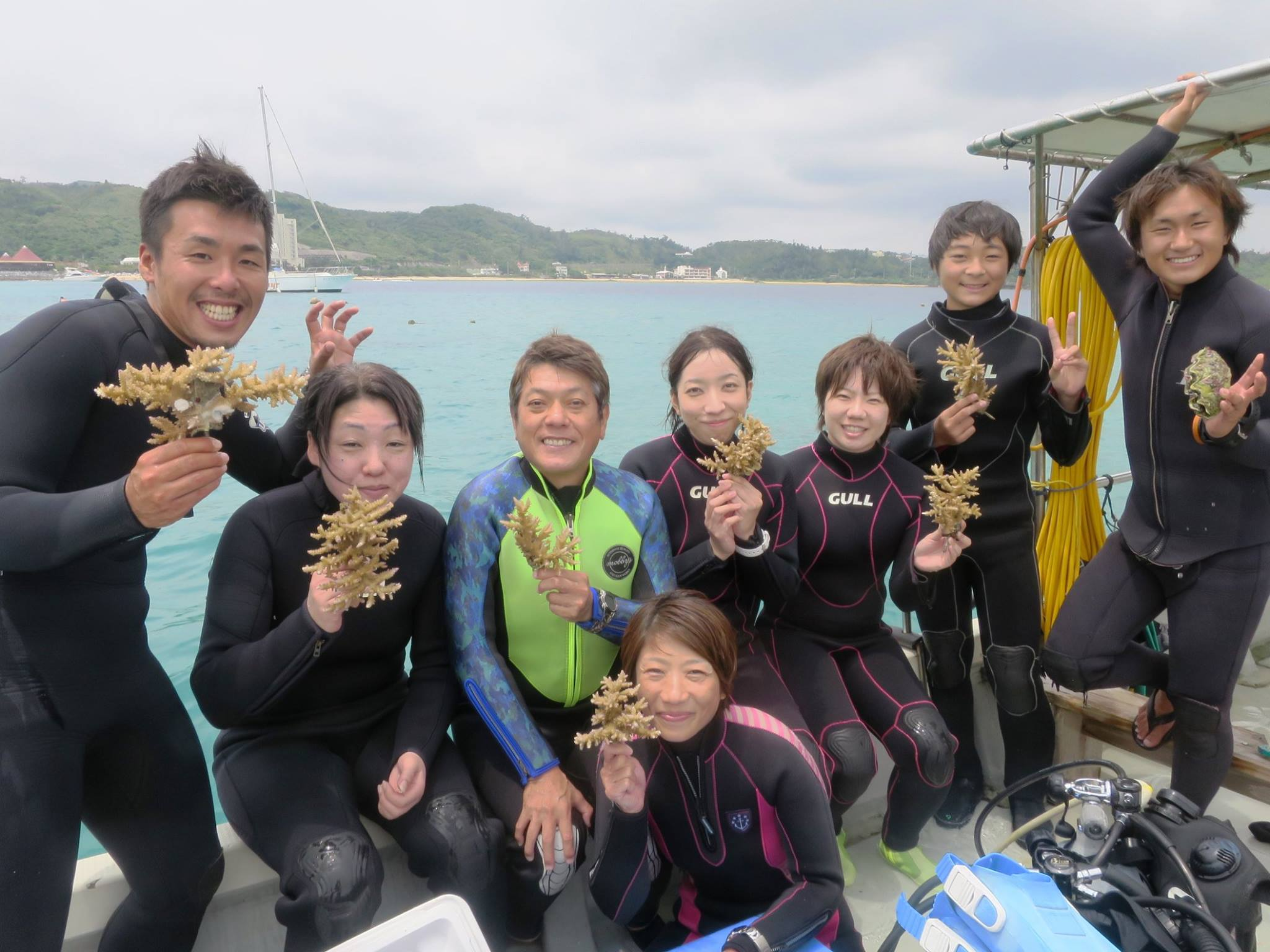JK-Wave_沖縄サンゴ植樹イベント3
