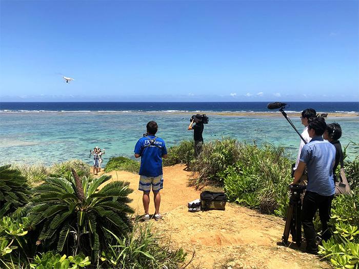 RBC琉球放送「うちなー企業調査隊」で沖縄ハピネスメモリー取材を受けた