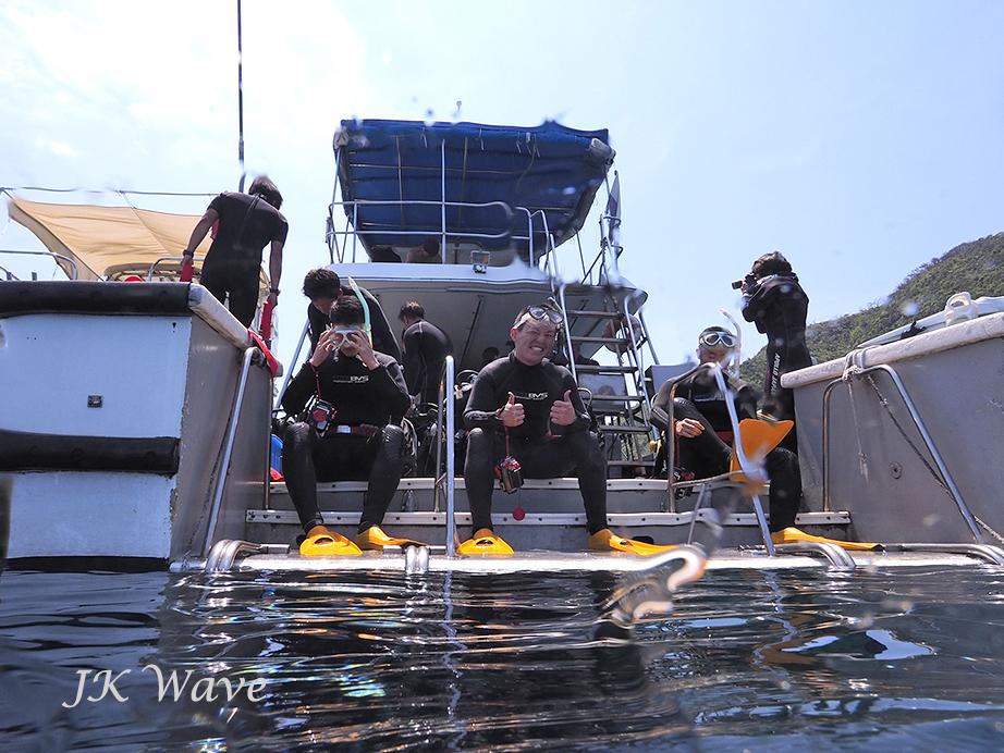 ジェイケ-ウェーブJK-Waveドローン空撮付き体験ダイビング003