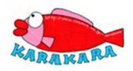 カラカラ先生のダイビングスクール ロゴ