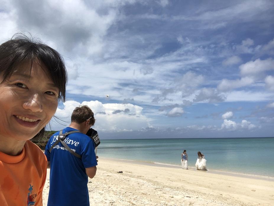 沖縄ドローン撮影 水中撮影 コスプレ水中撮影 ジェイケーウェーブ JK-Wave