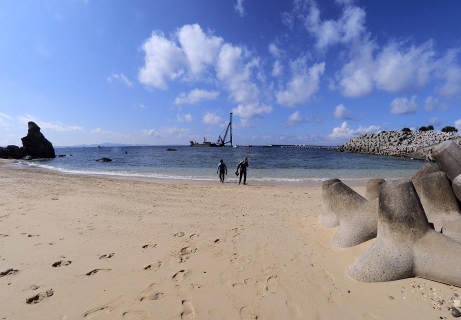 沖縄ダイビング ゴリラチョップ ジェイケーウェーブ JK-Wave
