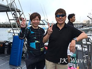 ジェイケ-ウェーブJK-Wave沖縄ドローン空撮付き体験ダイビング_お客様の声010