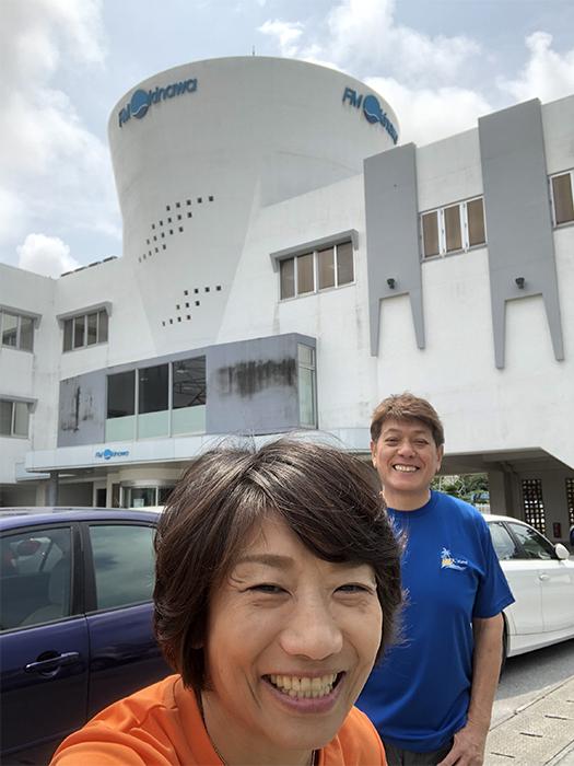 エフエム沖縄 ジェイケーウェーブ 沖縄ハピネスメモリーリリース放送