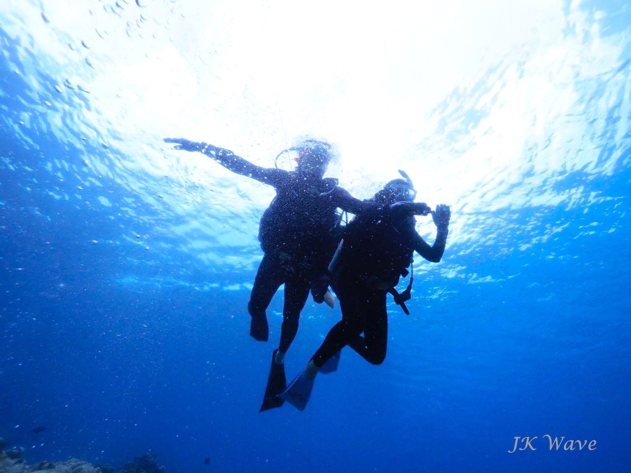 ジェイケ-ウェーブJK-Wave沖縄ドローン空撮付き体験ダイビング_お客様の声011