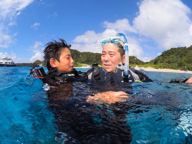 ジェイケ-ウェーブJK-Wave沖縄ドローン空撮付き体験ダイビング029