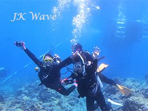 ジェイケ-ウェーブJK-Wave沖縄ドローン空撮付き体験ダイビング_お客様の声003