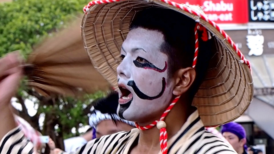 沖縄 一万人のエイサー踊り隊 チョンダラー